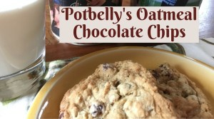 Potbelly Oatmeal Chocolate Chip Cookies