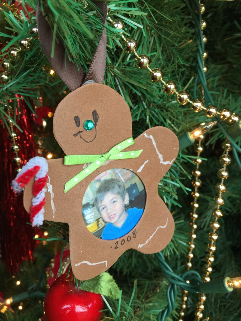 Decorating the Christmas Tree: Handcrafted ornaments