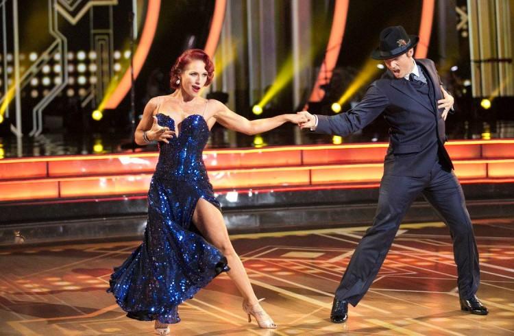 Dishing on Dancing with the Stars: Nick Backstreet Boy Carter and Sharna Wagga Wagga Burgess