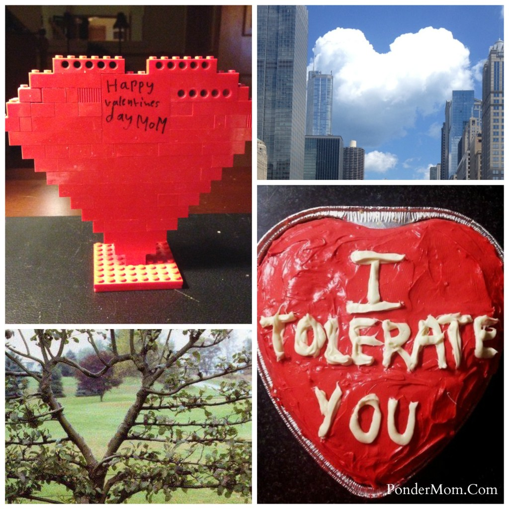 Valentine's Day: Heart Collage
