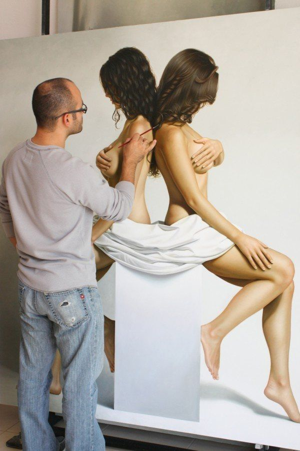 Painting, realistic