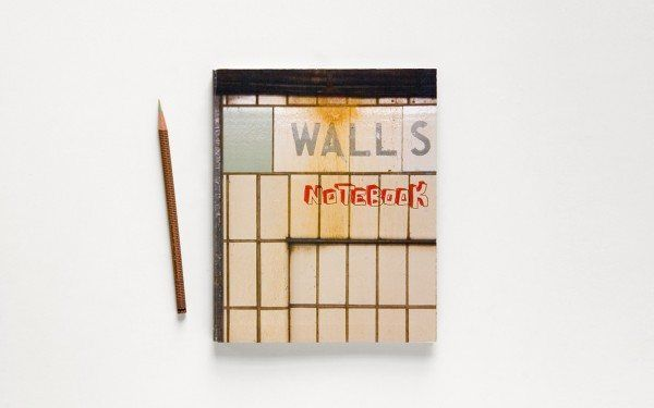 walls notebook 1 600x375 Street Art Notebook For Artists