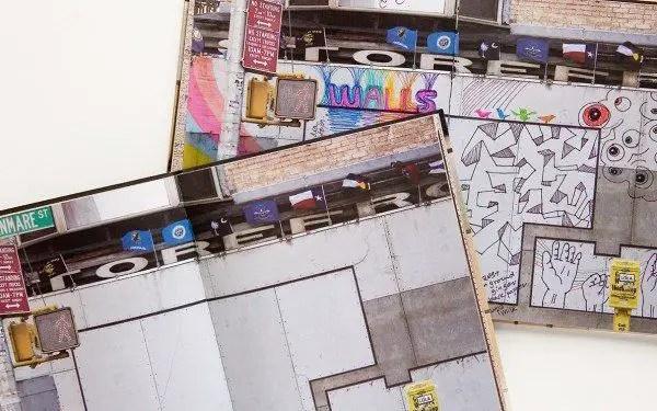 walls notebook 6 600x375 Street Art Notebook For Artists