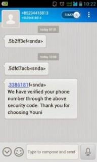 Aplikasi SMS untuk Android Dual SIM GSM - CDMA