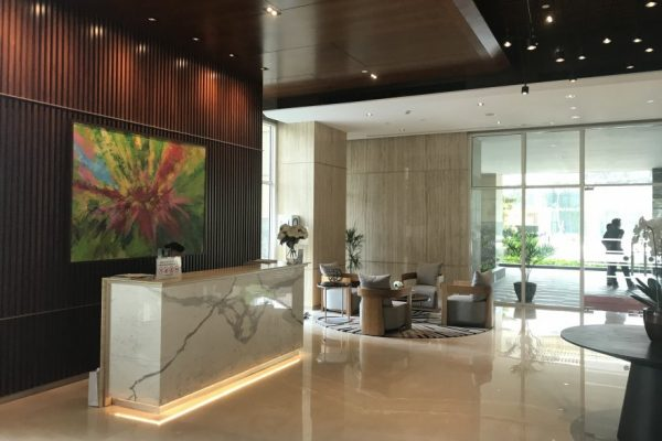 Reception-desk-Pondok-Indah-Residences