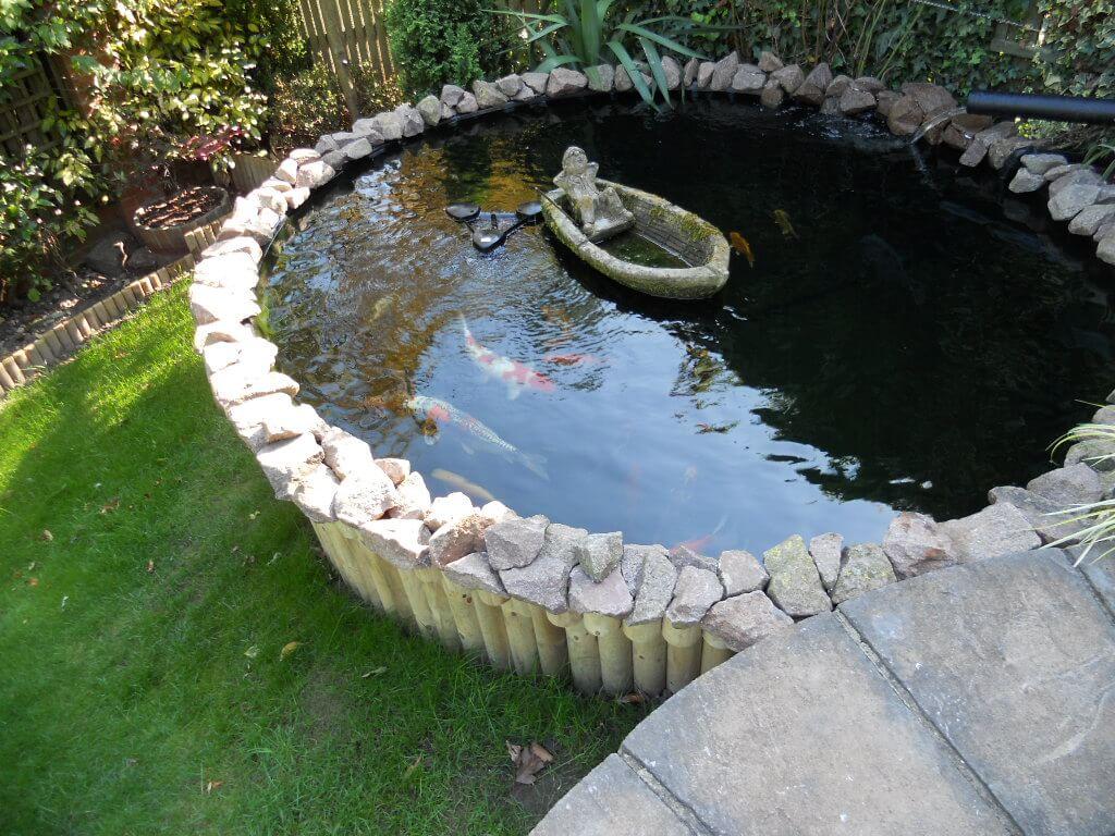 Raised Koi Pond Design - Keith Bowler | Pond Designs on Koi Ponds Ideas  id=41386