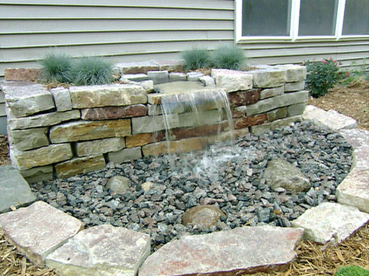 Pondless water features are great for small & large ... on Small Backyard Water Features id=21031