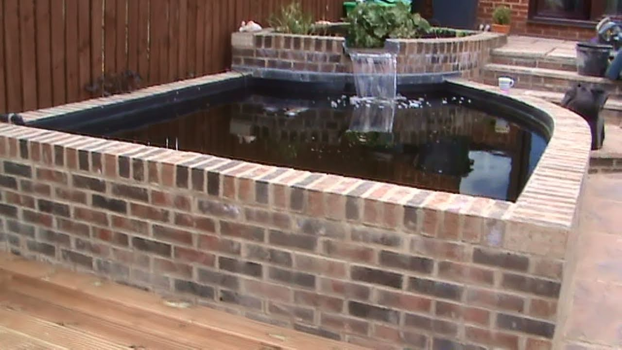 Brick Fish Pond Designs
