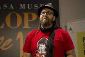 David Trashumante | Poeta 'slammer' ganador | Poetry Slam especial por el Día Mundial de la Poesía 2014 | Casa Museo Lope de Vega | 21 de marzo de 2014