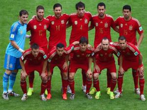 Once inicial de la selección de España contra la selección de Chile   Miércoles 18 de junio de 2014   Estadio de Maracana - Río de Janeiro   Copa Mundial de la FIFA Brasil 2014   © Getty Images