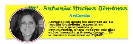 Perfil colaboradores PqHdM | María Antonia Muñoz Jiménez | Antonia