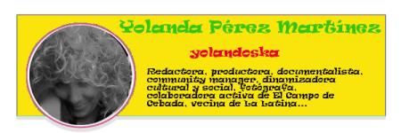 Perfil colaboradores PqHdM   Yolanda Pérez Martínez   yolandoska