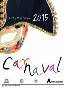 Carnaval 2015 Alcalá de Henares | Comunidad de Madrid | Cartel