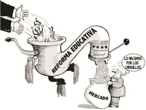 Educacion y Mercado | Fuente: La educación que nos une org | 2015