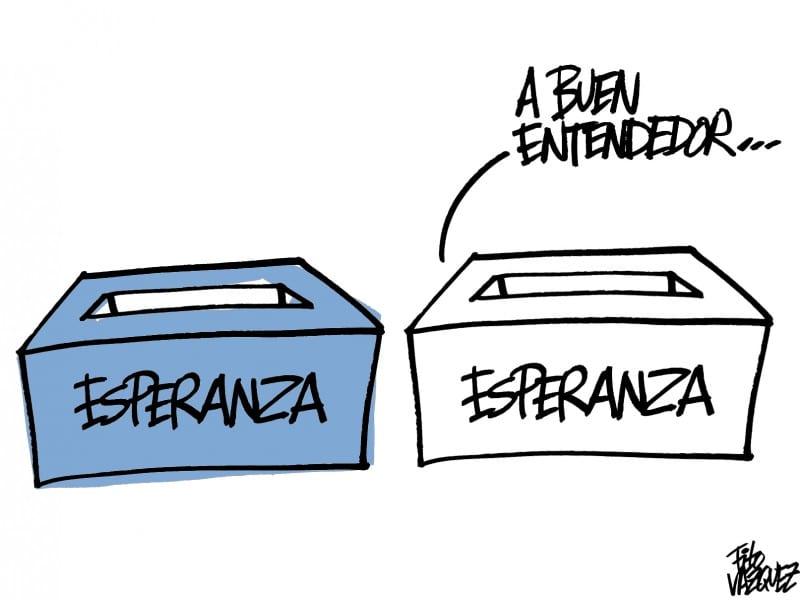 Jornada electoral: Esperanza vs. Esperanza | © Fito Vázquez 2015