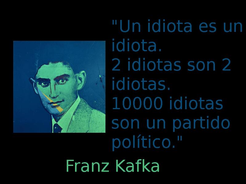 Un idiota es un idiota   Franz Kafka