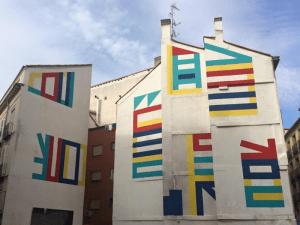 Muralismo grafitero   El Tono   Calle de la Cruz 18   Barrio de Sol   Centro - Madrid   Agosto 2015