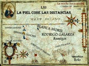 61 La piel cose las distancias | La Noche Boca Arriba | Lavapiés - Madrid | 13-10-2015