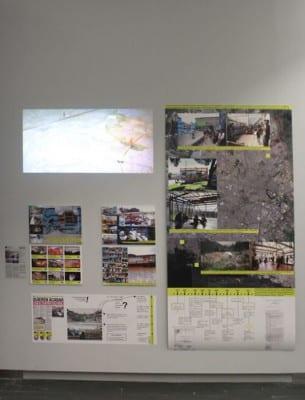 'Arquitectura dispuesta: Preposiciones cotidianas' | Exposición CentroCentro Cibeles | Madrid 03/12/2015 - 06/03/2016 | Mural