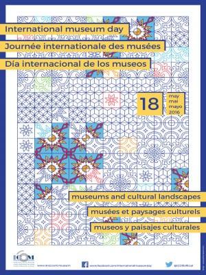 Día Internacional de los Museos 2016   18 de mayo de 2016   Cartel