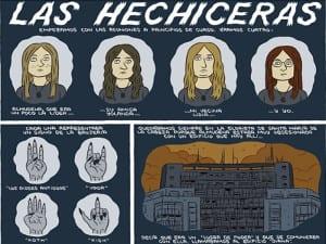 'La ciudad en viñetas' | Paco Alcázar | CentroCentro Cibeles | Retiro - Madrid | 08/06-25/09/2016 | Las hechiceras
