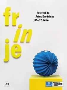 Frinje 16 | Festival de Artes Escénicas | Del 1 al 17 de julio de 2016 | Matadero Madrid | Cartel Farolillo