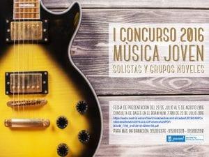 Fiestas de Aravaca 2016 | Moncloa-Aravaca | Madrid | 8 al 11 de septiembre de 2016 | 1er Concurso de Música Joven 2016