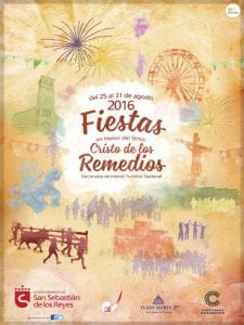 Fiestas en honor del Santísimo Cristo de los Remedios 2016 | San Sebastián de los Reyes | Comunidad de Madrid | Cartel