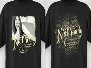 Neil Young homenajes | Clamores - Madrid | Satélite T - Bilbao | 03 y 06/10/2016 | Camiseta i media - 'Bolo' García | 2 camisetas sorteo