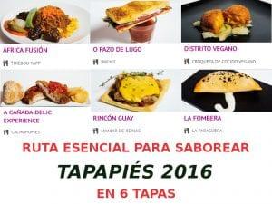 Ruta esencial para saborear Tapapiés 2016 en 6 tapas