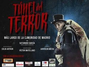 Túnel del Terror más largo de la Comunidad de Madrid   Colmenar Viejo   28 al 31/10/2016   Cartel