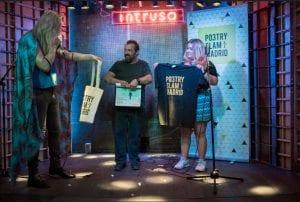 Poetry Slam Madrid | Septiembre 2016 | Intruso Bar | Madrid | Foto Paula Díaz