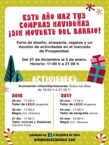 Feria de Navidad   Gira de Mercaderes   Mercado de Prosperidad   27/12/2016 al 05/01/2017   Chamartín - Madrid   Cartel actividades