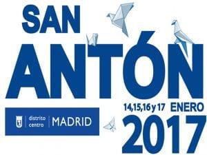 Fiestas de San Antón 2017 | La fiesta de los animales | Barrio de Chueca | Madrid | 13 al 17/01/2017 | Cartel