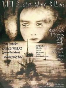 53º Poetry Sam Bilbao   LuzGas Café-Bar   Bilbao   01/03/2017   Cartel José Manuel Ezquerra