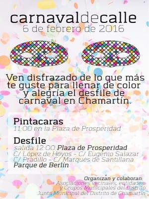 Carnaval de Calle   Distrito de Chamartín - Madrid   06/02/2016