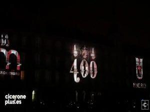 El mayor vídeo mapping 360º de España | Historia de la Plaza Mayor de Madrid en su 4º Centenario | 1617-2017 | Foto Pablo Rentería/Cicerone Plus