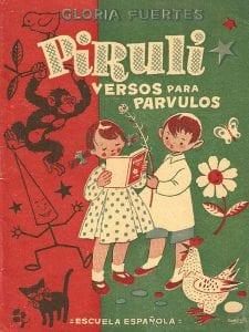 'Pirulí. Versos para párvulos'   Gloria Fuertes   Editorial Escuela Española   Madrid 1956