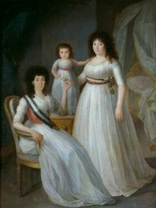La duquesa de Osuna como Dama de la Orden de Damas Nobles de la Reina María Luisa | 1796-1797 | Agustín Esteve y Marqués | Museo del Romanticismo | Madrid