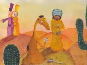 'El camello cojito' | Gloria Fuertes | Ilustración Maria Grandola Marín de Ahumada | El balcón de Gloria Fuertes