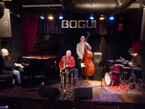 Conciertos Bogui Jazz Julio 2017 | Chueca - Centro - Madrid | Pedro Iturralde Quartet