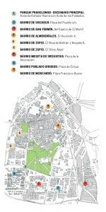 Fiestas de Usera 2017 | 16 al 25 de junio de 2017 | Usera - Madrid | Plano espacios