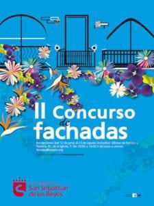 Fiestas del Cristo de los Remedios 2017 | San Sebastián de los Reyes | Comunidad de Madrid | 25 - 31/08/2017 | 2º Concurso de Fachadas | Cartel