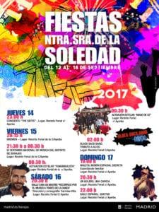 Fiestas de Nuestra Señora de la Soledad 2017 | Barajas | Madrid | 12-18/09/2017 | Conciertos