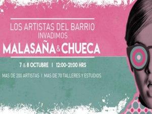 Madrización presenta inkDelicius en Artistas del Barrio 2017 | Malasaña-Chueca | Madrid | 07-08/10/2017 | Más de 200 artistas | Más de 70 talleres y estudios