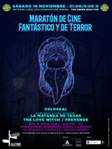 Alcine47 | Festival de Cine de Alcalá de Henares / Comunidad de Madrid | 10-17/11/2017 | Alcalá de Henares | Comunidad de Madrid | Maratón de Cine Fantástico y de Terror