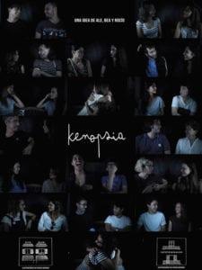 Documental Kenopsia | Una idea de Ale, Bea y Rocío | Cartel | Ilustraciones Prisca Bersini