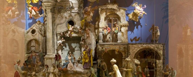 Navidad en el Museo Nacional Thyssen-Bornemisza | Hasta el 7 de enero de 2018 | Panorámica belén napolitano | Barrio de Cortes | Centro | Madrid