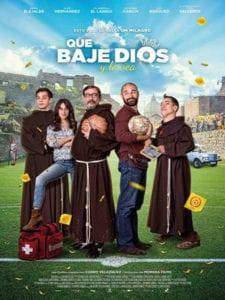 'Que baje Dios y lo vea' | Comedia dirigida por Curro Velázquez | España 2017 | El Langui, Karra Elejalde, Alain Hernández, Macarena García y Joel Bosqued | Cartel