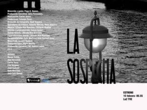 'La sospecha' | España, 2014 | Documental | Pandorga Comunicación y TVE | Estreno en La2 de TVE | 15/02/2018 | Cartel